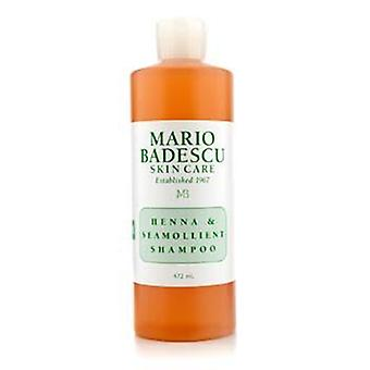 Mario Badescu Henna & Seamollient Shampoo (For All Hair Types) - 472ml/16oz