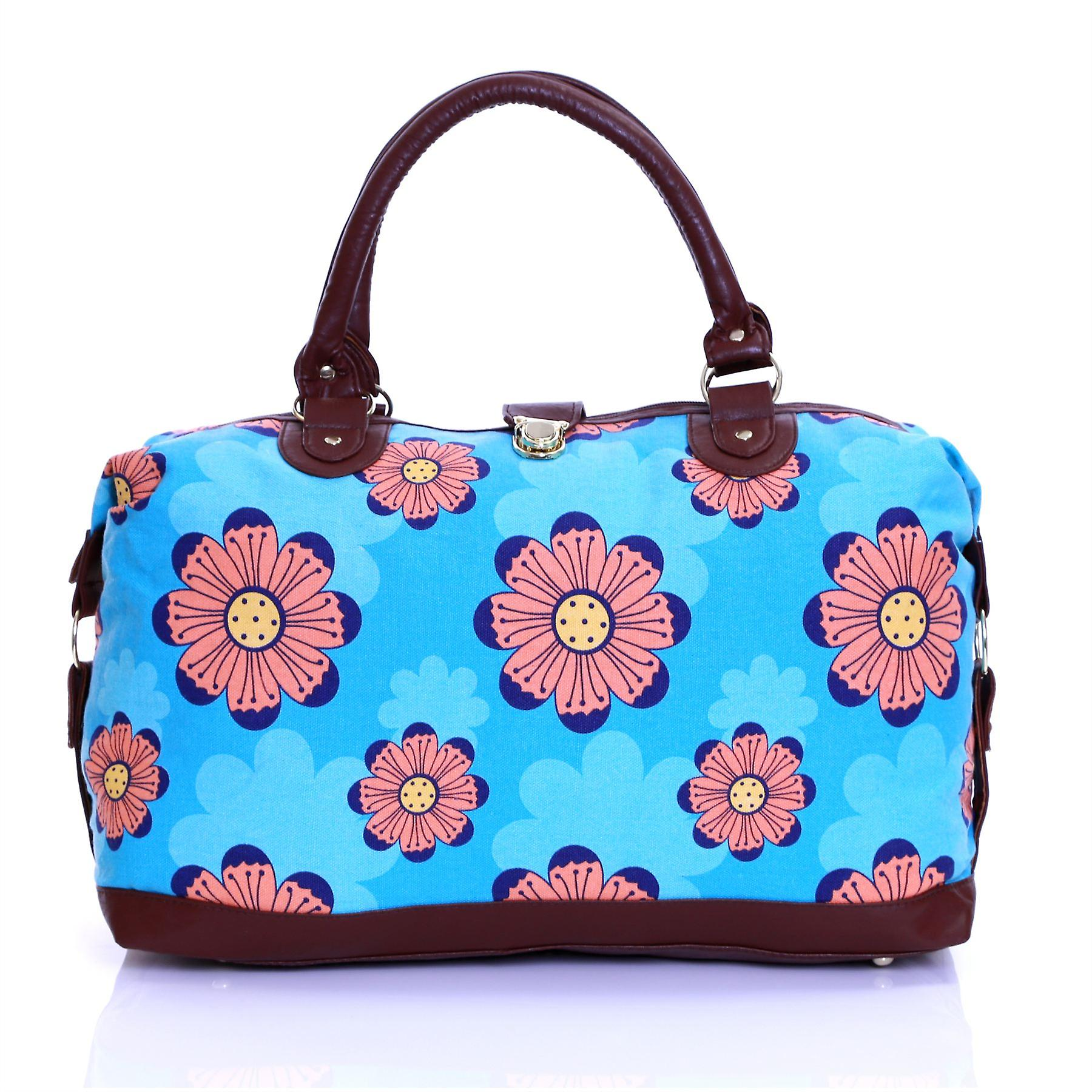 Karabar Story Weekend Travel Bag, Flowers