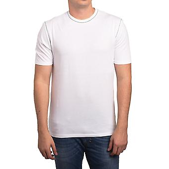 Z Zegna by Ermenegildo Zegna Men Blank T-Shirt White Grey