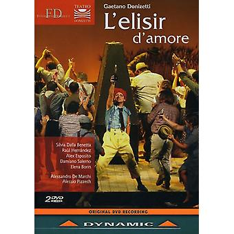 G. Donizetti - L'Elisir D'Amore [DVD] USA import