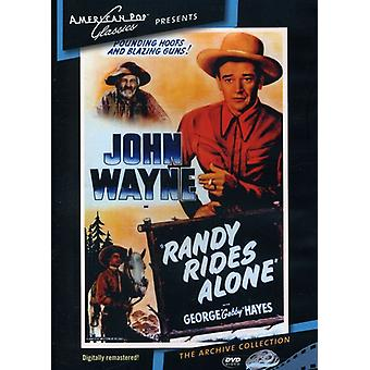 Randy Rides Alone (1934) [DVD] USA import