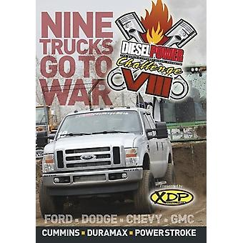 Diesel Power Challenge VIII [DVD] USA importerer