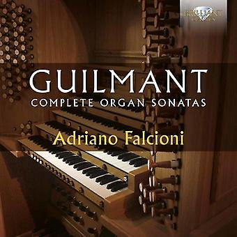 Adriano Falcioni - Guilmant: Komplett orgel sonater [CD] USA import