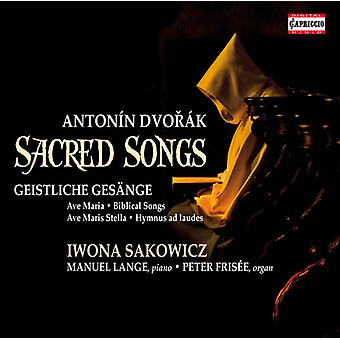 Dvorak / Sakowicz / Lange / Frisee - Sacred Songs [CD] USA import