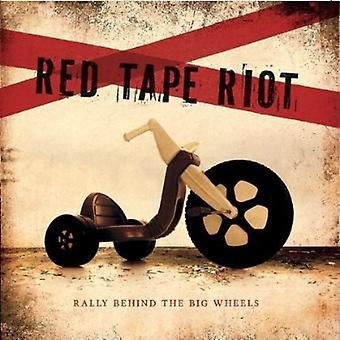 Bürokratie Riot - Rallye hinter the Big Wheels [CD] USA import