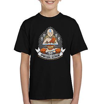 Spiritual Retreat Avatar The Last Airbender Kid's T-Shirt