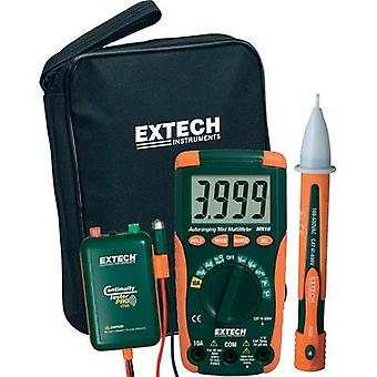 Handheld multimeter digital Extech MN16A-KIT Calibrated to: Manufacturer's standards (no certificate) CAT II 1000 V, CA