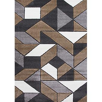 Natural Geometric Lounge Rug - Rio
