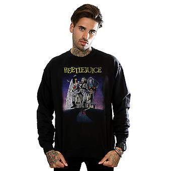 Beetlejuice Men's Distressed Poster Sweatshirt