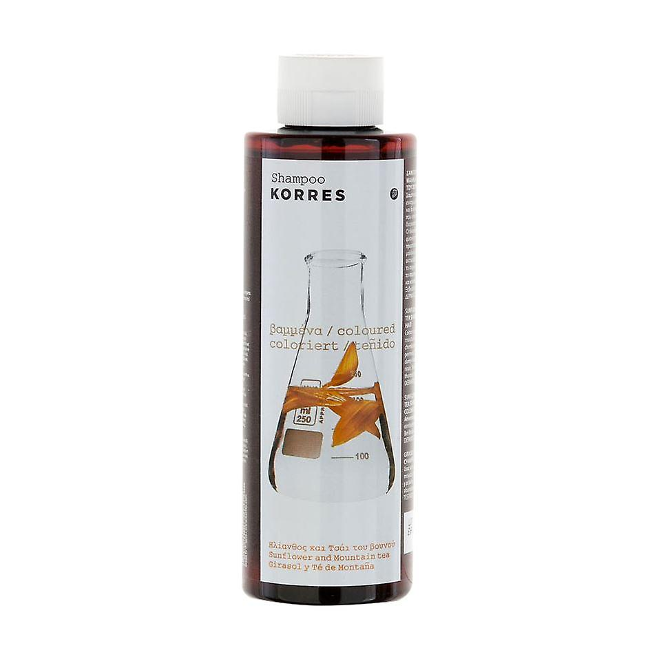 Korres Sunflower & Mountain Tea Shampoo 250ml