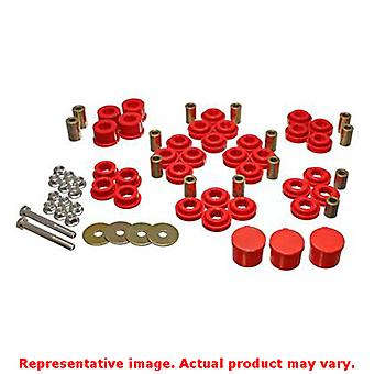 Energy Suspension kontrollarm bussning Set 5.3141R röd bak passar: CHRYSLER 2005 -