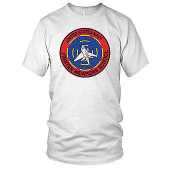 US Navy Fighter Weapons School Top Gun-Herren-T-Shirt