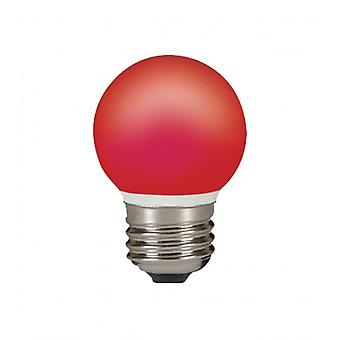Lámpara Sylvania orbe LED rojo 0, 5W E27 IP44