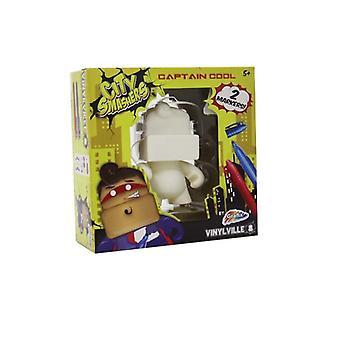 Grafix Vinyl Monster kapitein Cool