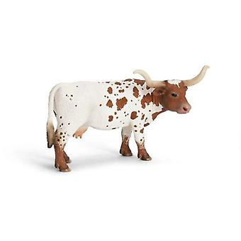 Schleich Cow Longhorn (Toys , Dolls And Accesories , Miniature Toys , Animals)