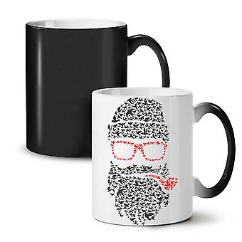 Santa Swag Cool Christmas NEW Black Colour Changing Tea Coffee Ceramic Mug 11 oz | Wellcoda