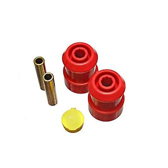 Energy Suspension 15.3119R Axle Pivot Bushing Set Red Rear Performance Polyurethane Axle Pivot Bushing Set