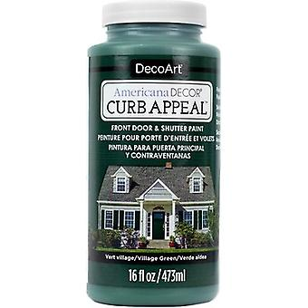 Americana Curb Appeal Paint 16oz-Village Green ADCA65-13