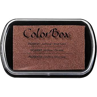 ColorBox Metallic Pigment Ink Pad-Rose Gold 19000-19090