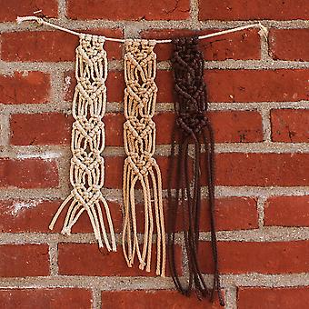 Mini Macrame Hanging Heart Kit- MMHHK