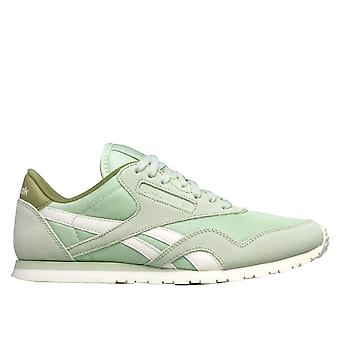 Reebok CL Nylon Slim Core Sagegreenchalk V68402 universal all year women shoes