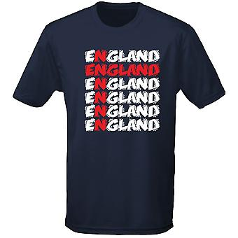 England Cross Funky Kids Unisex T-Shirt 8 Colours (XS-XL) by swagwear