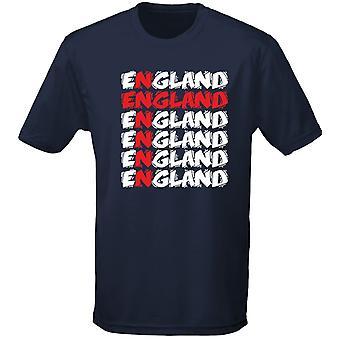 Engeland Cross Funky Kids Unisex T-Shirt 8 kleuren (XS-XL) door swagwear