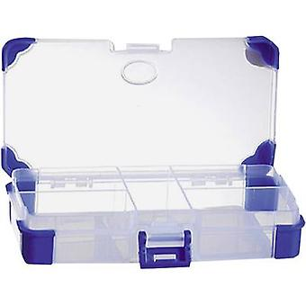 Assortment box (L x W x H) 140 x 70 x 30 mm VISO No. of compartments: 5 fixed compartments