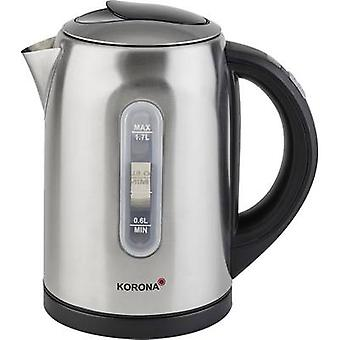 Kettle cordless, Temperature pre-set Korona Stainless steel, Bl