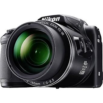 Digital camera Nikon Coolpix B-500 16 MPix Optical zoom: 40 x Black Full HD Video, Flip screen, Bluetooth