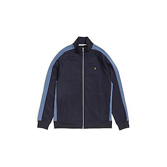 Farah Irk Full Zip Track Jacket Navy