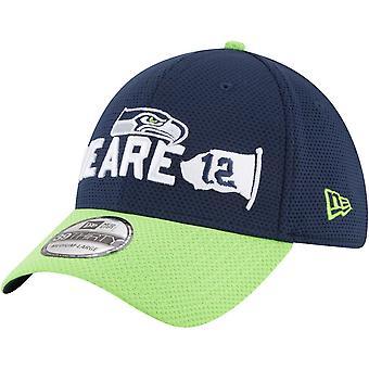 New era 39Thirty chapeau - 2018 NFL projet Seahawks de Seattle