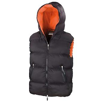 Result Mens Dax Down Feel Urban Padded Waterproof Windproof Bodywarmer Gilet