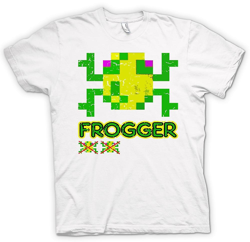Mens T-shirt - Frogger - Classic Arcade Game 0s Gamer