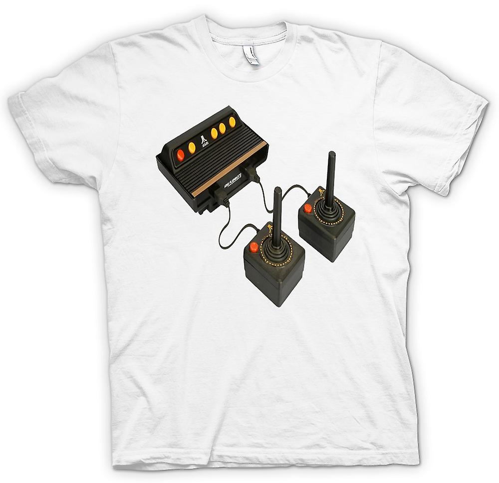 Womens T-shirt - Atari Old Console - Retro