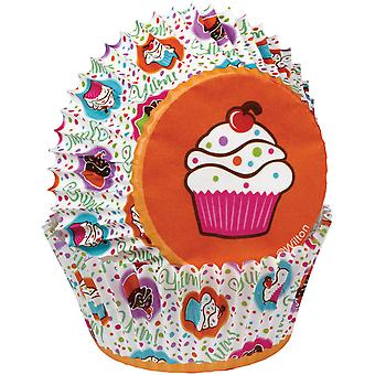 Standard Baking Cups-Cupcake Party 75/Pkg