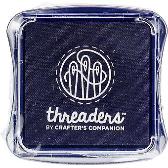 Crafter's Companion Threaders Fabric Ink Pads-Violet