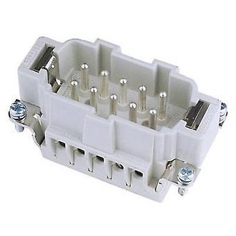 Plug inset 10-pin ILME 10-pol 16A White