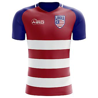 2018-2019 Liberia Home Concept voetbalshirt