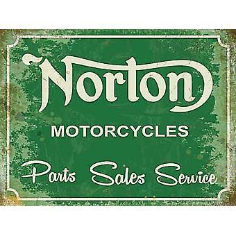 Norton Motorcycles Parts Sales Service Fridge Magnet