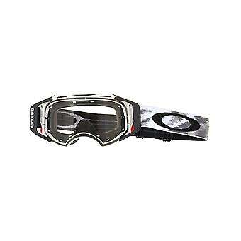 Oakley Matte White Speed-Clear Airbrake MX Goggle
