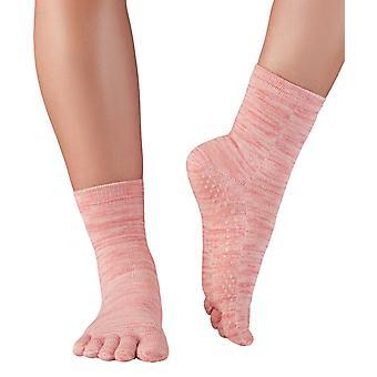 Knitido massage sokken fruit & yoghurt teen sokken met ABS knoppen