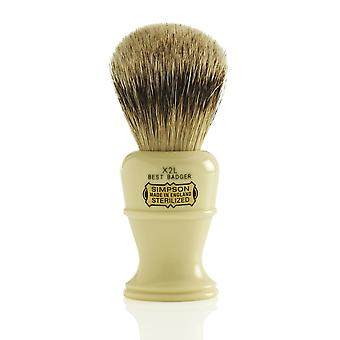 Simpsons Colonel Best Badger Shaving Brush