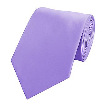 Knyta slips tie slips 8cm lilla Fabio Farini