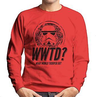 Original Stormtrooper was täten Trooper den Herren Sweatshirt
