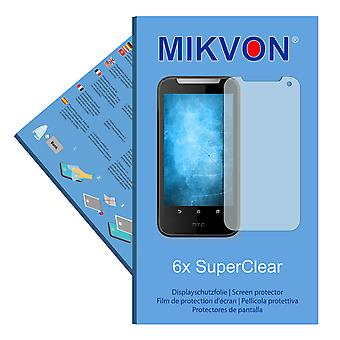 HTC Desire V1 screen protector- Mikvon films SuperClear