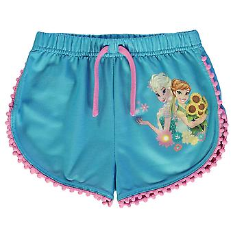 Character Kids Shorts Pants Trousers Bottoms Infant Girls Elastic Print
