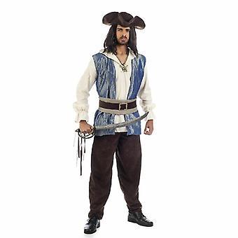 Pirate Calico Pirate Costume men's costume pirate captain Mr costume Corsair