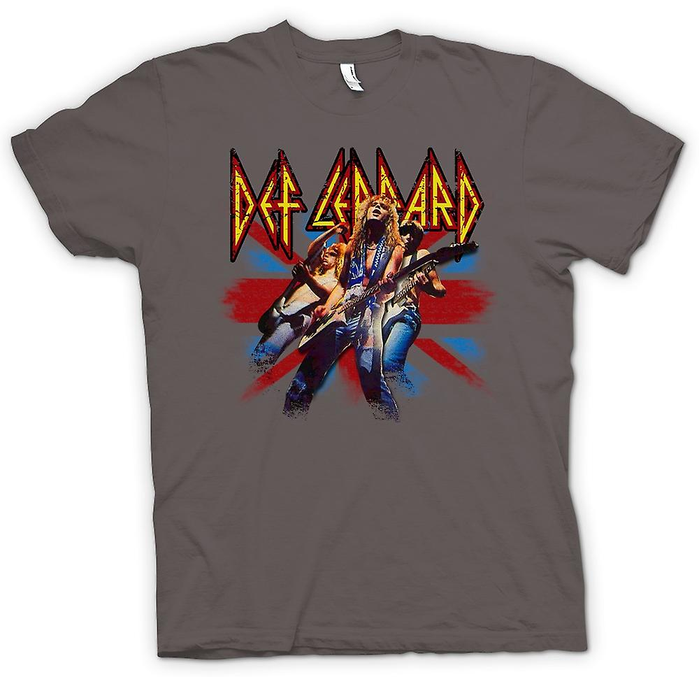 Heren T-shirt - Def Leppard - British Rock