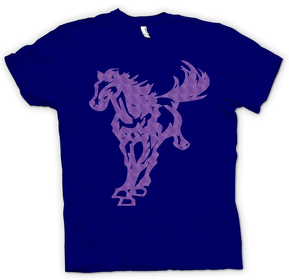 T-shirt homme - cheval au galop - Cool